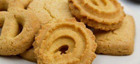 Receita de biscoito amanteigado