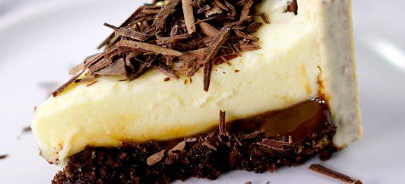Torta Mousse com Brigadeiro e Bis