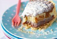 Torta trufada de leite ninho e nutella