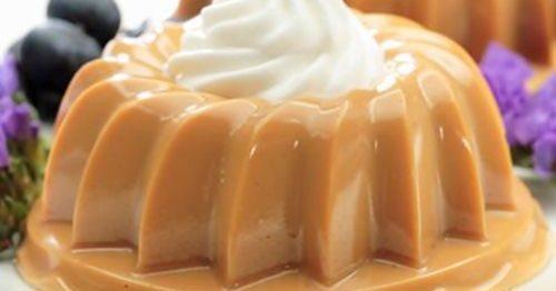 gelatina de doce de leite