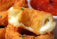 recheada com queijo