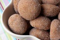 Biscoitos viciantes de canela