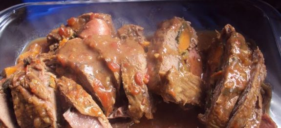Aprenda a preparar uma carne recheada na pressão super saborosa