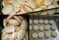 Biscoitinhos de maisena com coco que derretem na boca