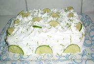 Bolo de Limão Para Aniversário
