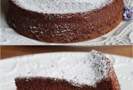 Bolo de chocolate com 2 ingredientes