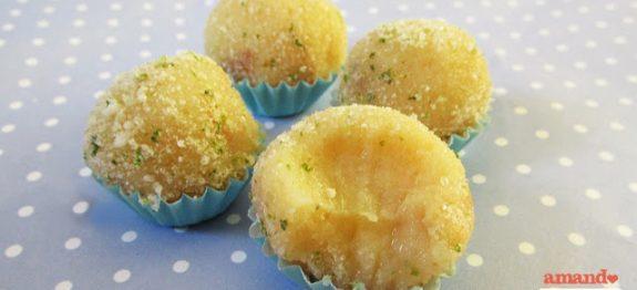 Brigadeiro de torta de limão