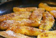 Como fazer banana frita de um jeito simples sem deixar que ela fique muito gordurosa