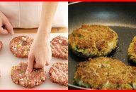 Como fazer hambúrguer caseiro fácil!