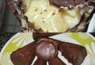 Cone trufado de chocolate