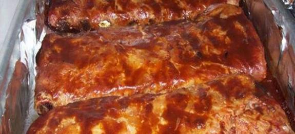 Costela ao Molho Barbecue do Outback