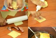 Massa de pastel com 3 ingredientes