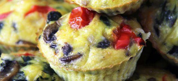 Muffins de Ovos