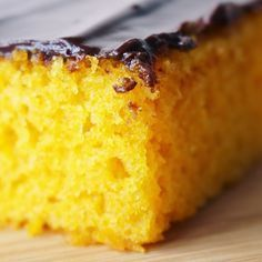 O melhor bolo de cenoura do mundo