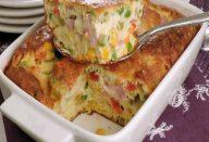 Omelete-suflê de forno
