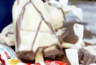 Picolé de KINDER CHOCOLATE