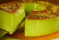 Pudim de pistache delicioso e totalmente diferente de tudo que você já comeu
