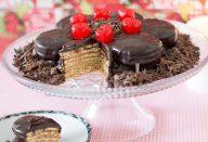 Receita Torta Alfajor