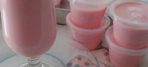 Receita de Iogurte de Leite Ninho no Potinho