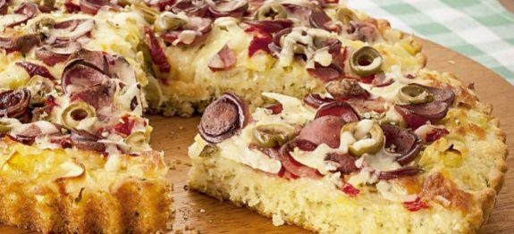 Receita de Torta Fácil de Padaria
