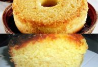 Receita de bolo de mandioca fácil