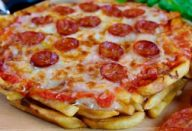 Receita de pizza de batata frita absolutamente deliciosa