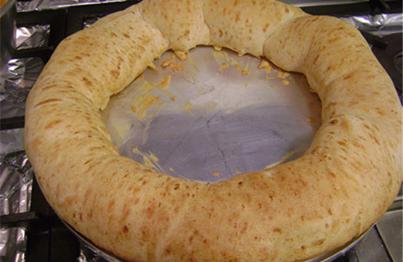 Rosca de polvilho azedo com queijo