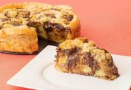 Torta de Banana com Chocolate Suflair