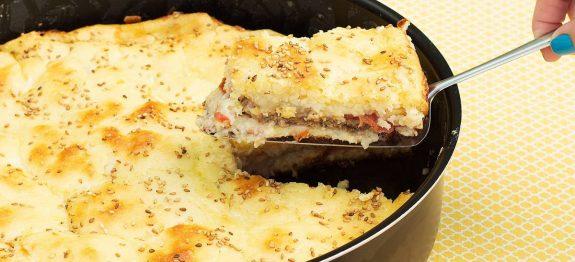 Torta de Hambúrguer Super Fácil