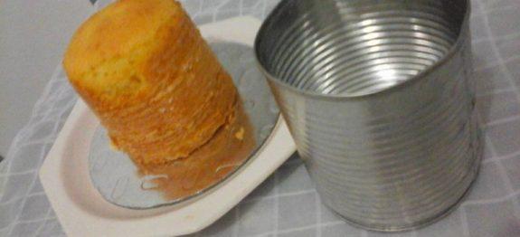 bolo de latinha
