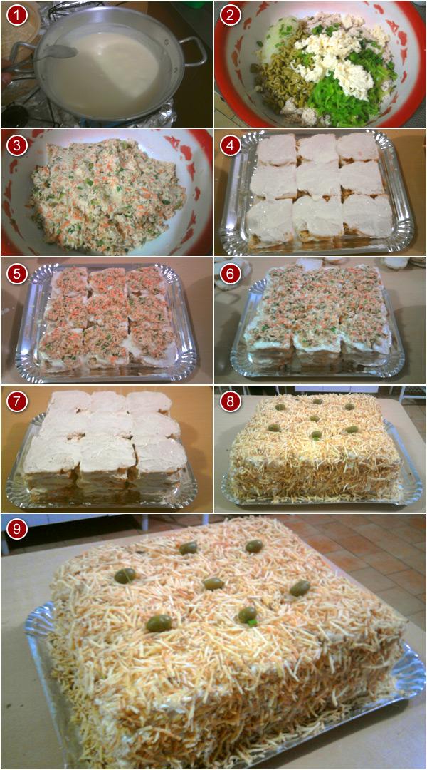 Panduíche (torta fria de pão de forma) - Veja a Receita:
