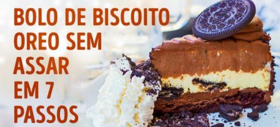 A receita do bolo de biscoito Oreo mais deliciosa do mundo