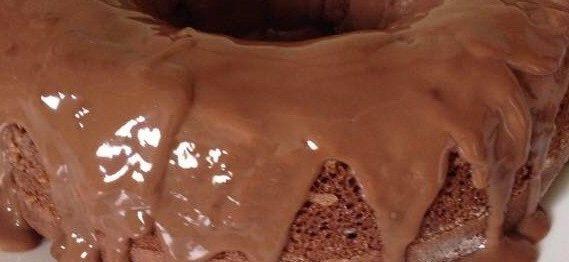 Bolo delicioso de chocolate sem ovo!