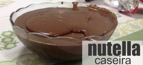 Nutella Caseira (creme de avelãs)