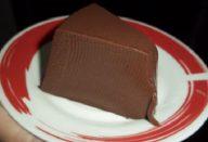 Pudim de Chocolate com 3 Ingredientes