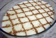 Receita de Arroz doce com leite em pó