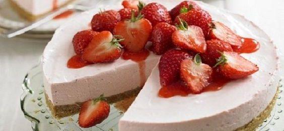 Torta Mousse de Danoninho