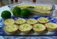 Tortinha de limão universitária fácil