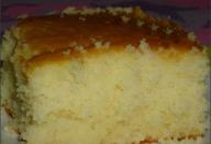 bolo de leite quente