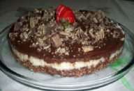 orta de Bis com Mousse de Chocolate