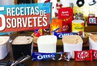 5 RECEITAS DE SORVETE FEITO COM GELATINA