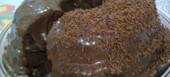 Bolo de Chocolate em 20 Minutos