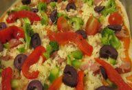 Massa especial para pizza