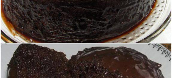 chocolate molhadinho