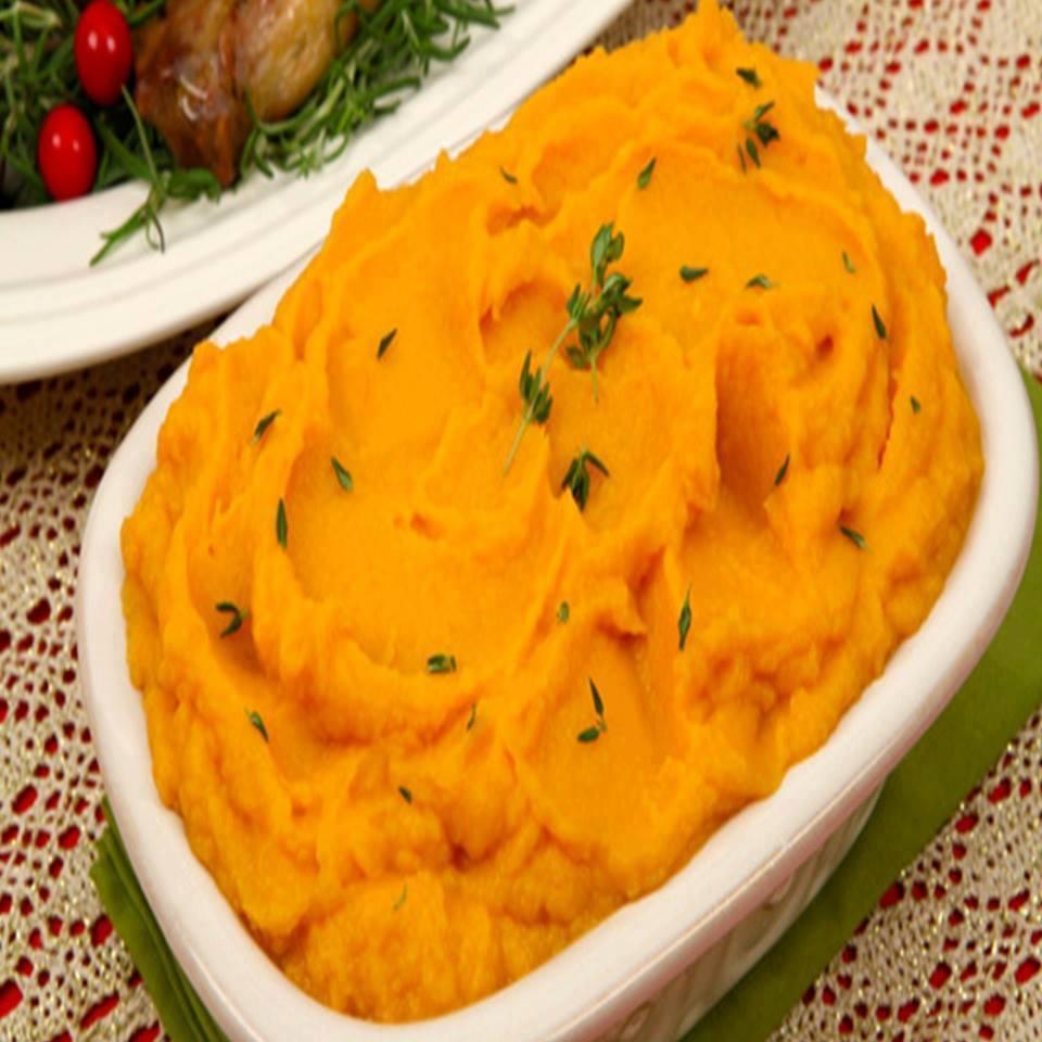 pur u00ea de batata doce com cenoura