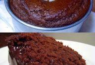 bolo de chocolate liquidifcador