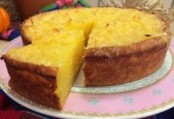 bolo de mandioca facil