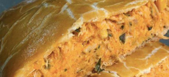 torta de frango 2 ingredientes