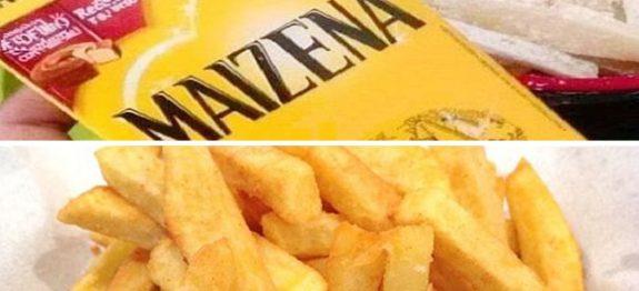 Batata Frita com Maizena