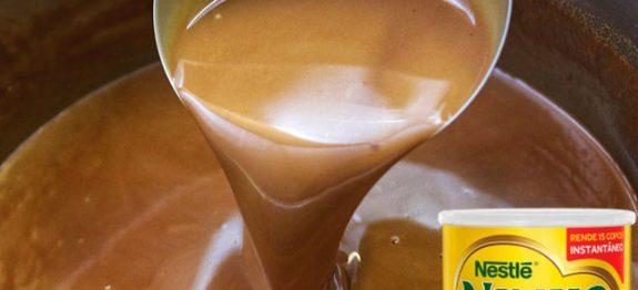 Chocolate Quente com Leite Ninho